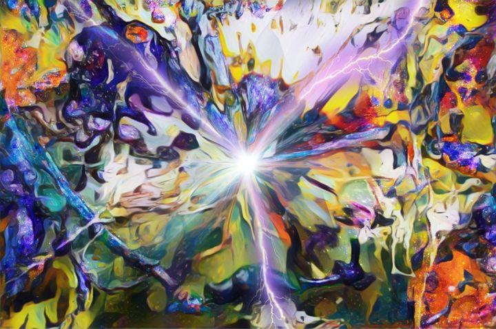 Consciousness - Abstract Art By Magnus