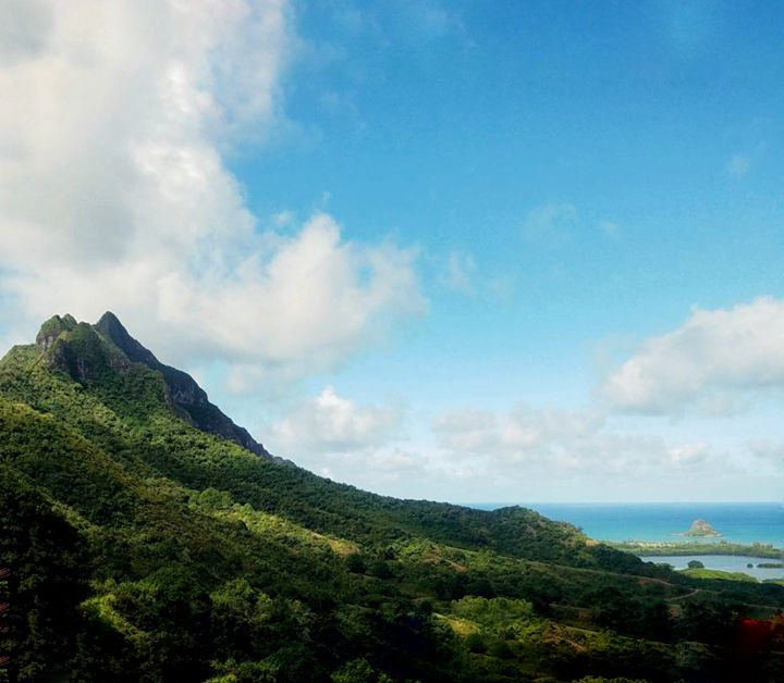 Volcanic Ridge of Oahu - ELF Natural Beauty
