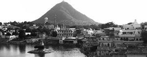 Saraswati Over Pushkar