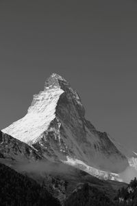 The Matterhorn in Black & White