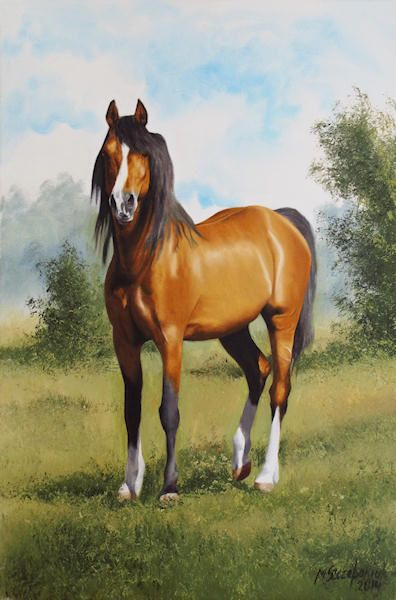 standing horse - The Gallery Design
