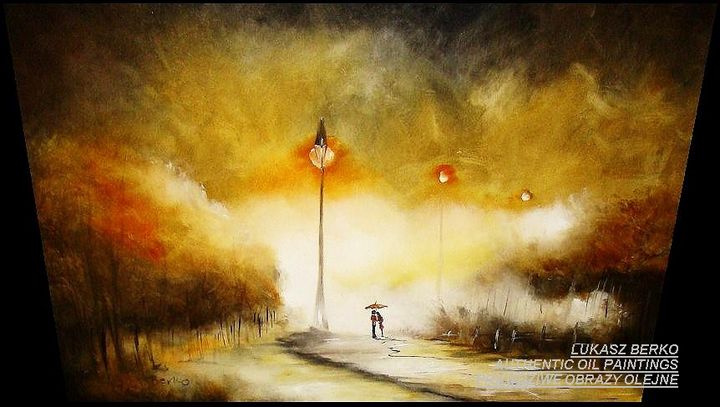 under the street lamp - The Gallery Design