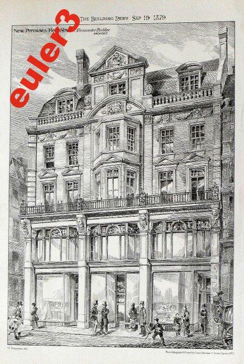 Fleet Street 1879 - The Gallery Design