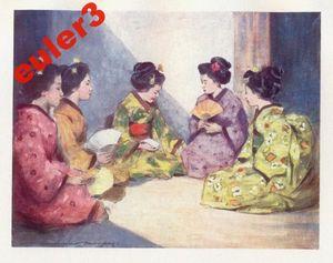 Japanese ladies 1888-91