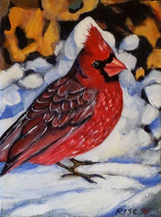 Radiant Winter Gift - Rose Ananda Heart