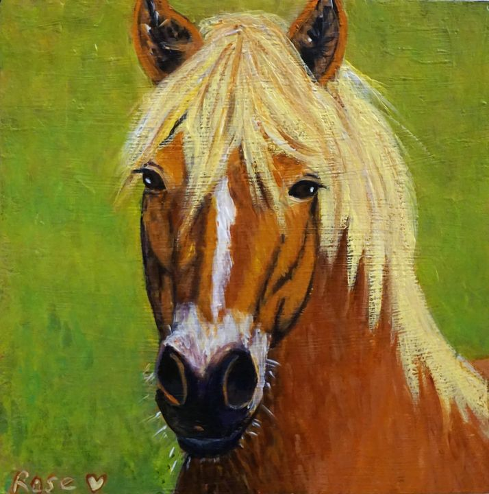 Equine Beauty - Rose Ananda Heart
