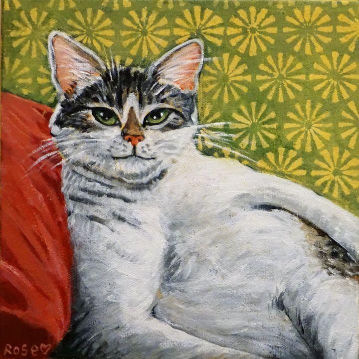 Lounge Cat - Rose Ananda Heart