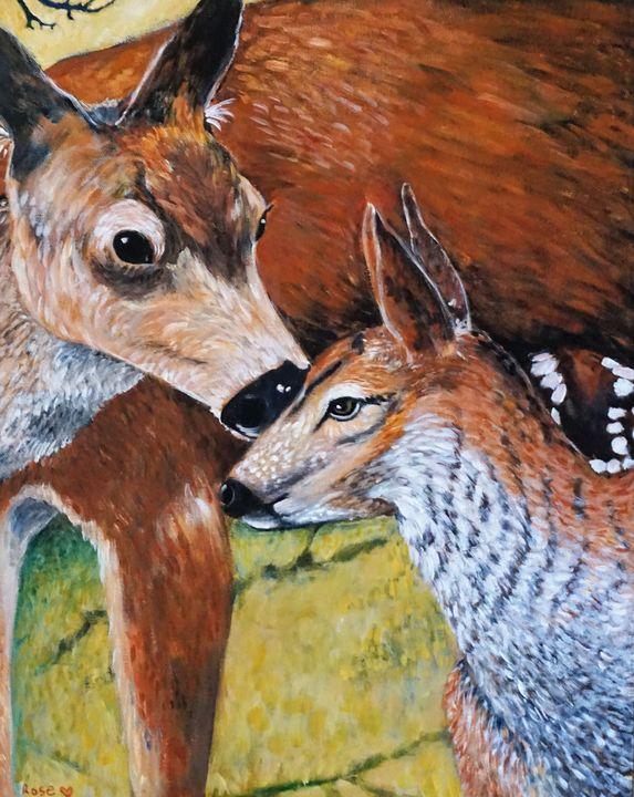 """Gentle Affection"" - Rose Ananda Heart"