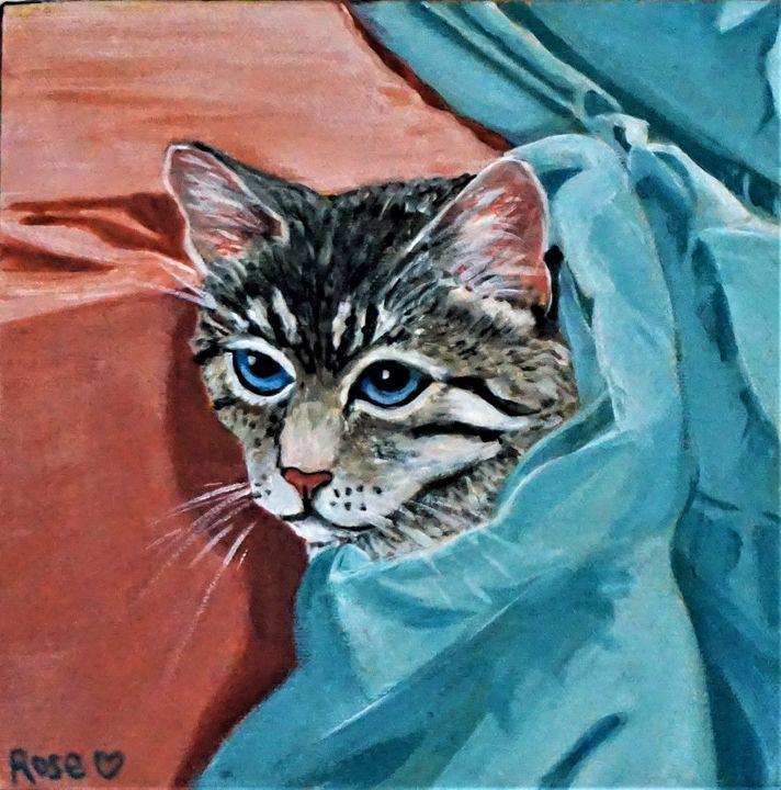 Under Cover Cat - Rose Ananda Heart