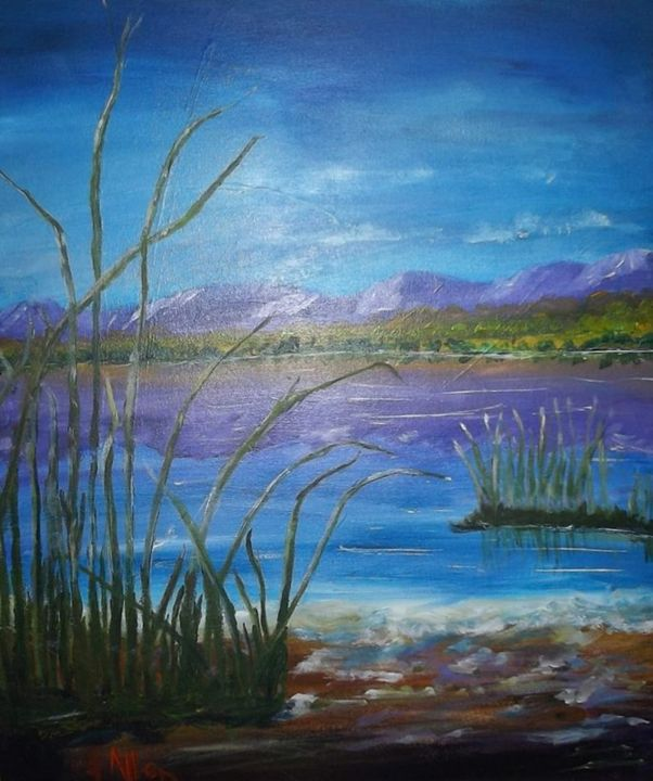Hume Weir - Art By Jackie