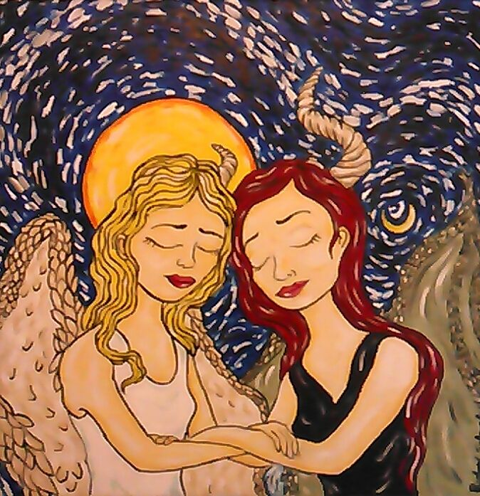 SISTERS - Paintings By Richard Schnelzer
