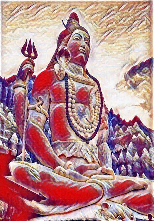 Lord Shiva - FreeTimeDigitalArtist