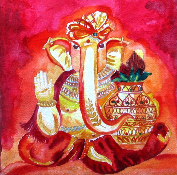 Lord Ganesha - Anuprita's