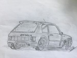 Peugeot 205 Turbo 16 Homologationcar