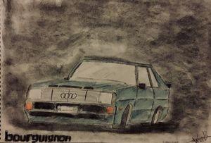 Audi Sport Quattro Homologation car