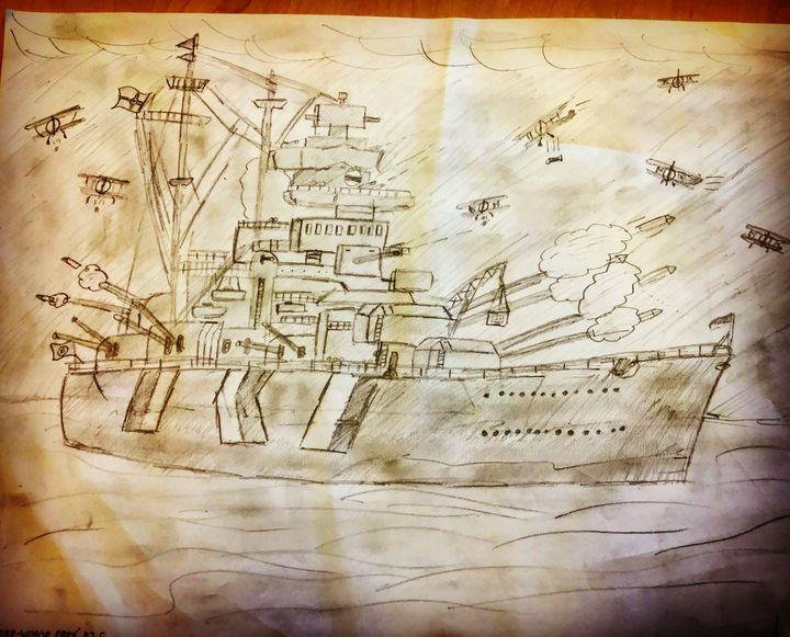 BISMARCK Battleship (Nazi) - MotorizedGallery
