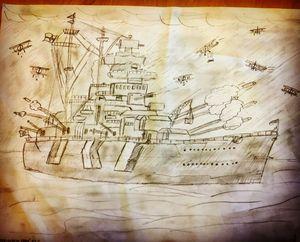BISMARCK Battleship (Nazi)