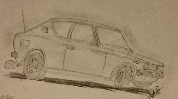 "Datsun 100A ""Cherry"" - MotorizedGallery"