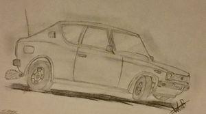 """Datsun 100A """"Cherry"""""""