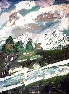 Mixed Media Mountains