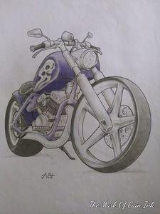 Chopper drawing 2