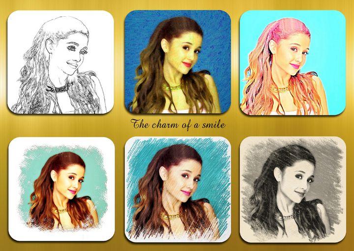 Ariana Grande pop star celebrity sin - Souvenir