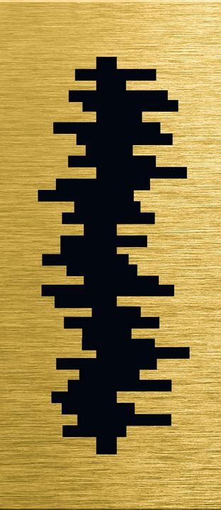 Gold illustration for interior 7 - Souvenir