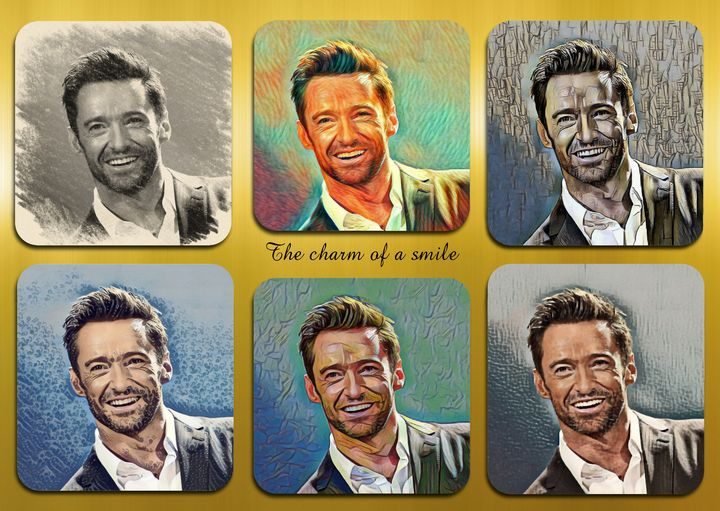 Hugh Jackman pop star celebrity - Souvenir