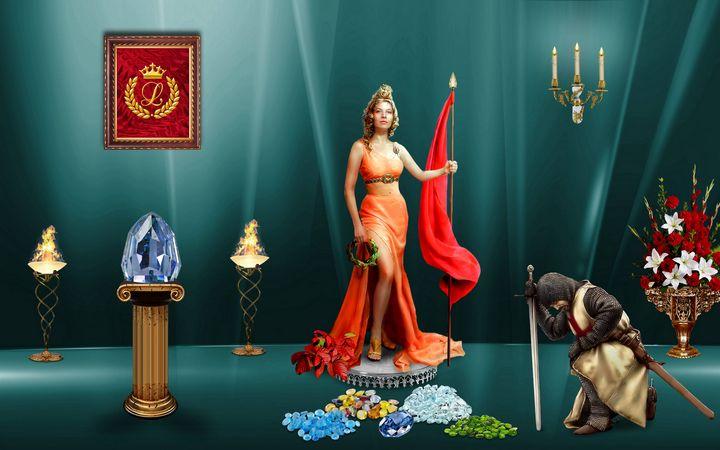 Treasures for the Queen - Souvenir