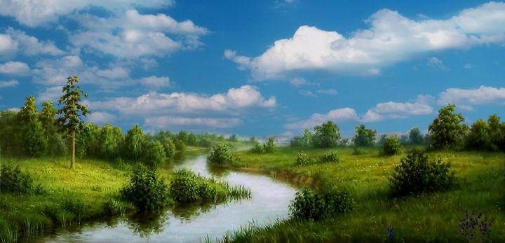 Panorama. Nature. Scenery. 2 - Souvenir