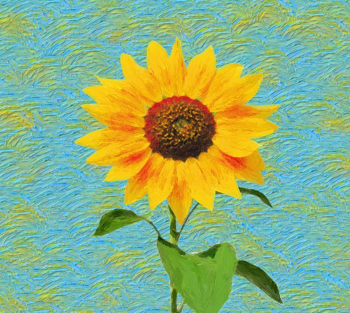 Sunflower. - Souvenir