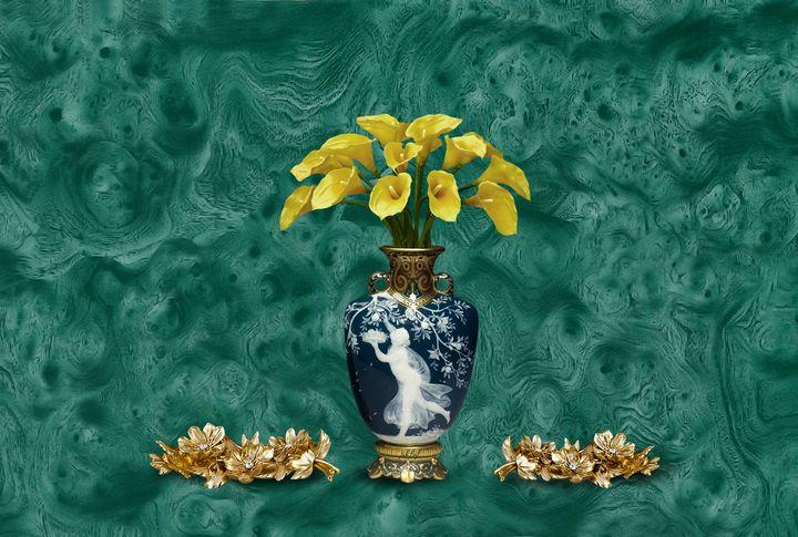 Vase bouquet flower luxury design - Souvenir