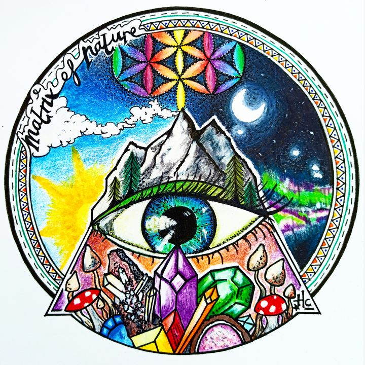 Matrix Of Nature - Full Moon In Aries