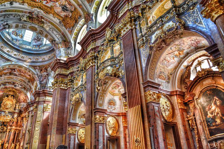 Baroque church - FriendlyChimpArt