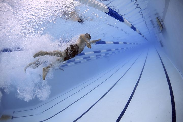 Swimmers - FriendlyChimpArt