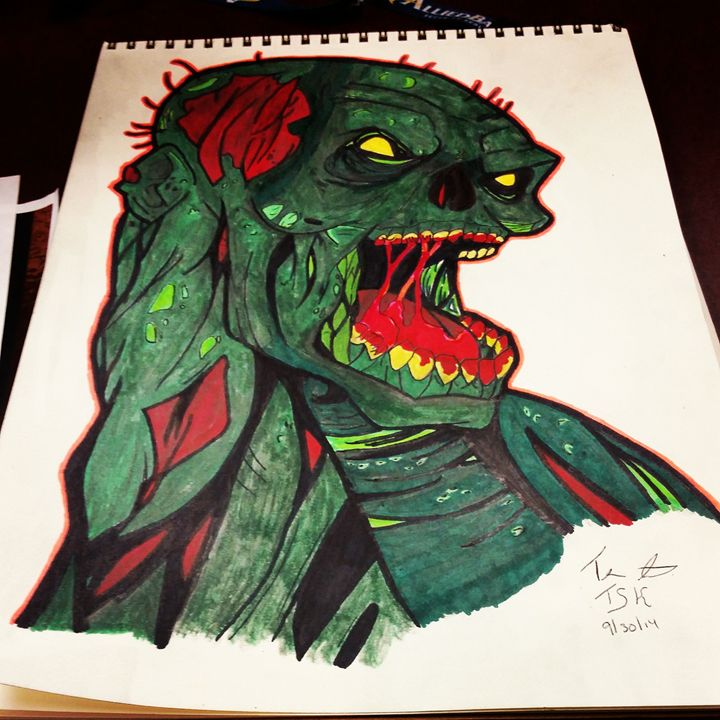 zombie - The Sharpie Killer