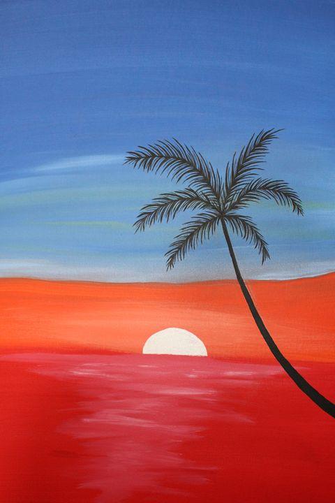 Red Sunset - Paige Tiemann
