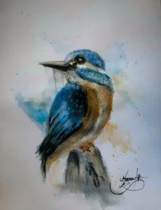 Kingfisher bird 💙