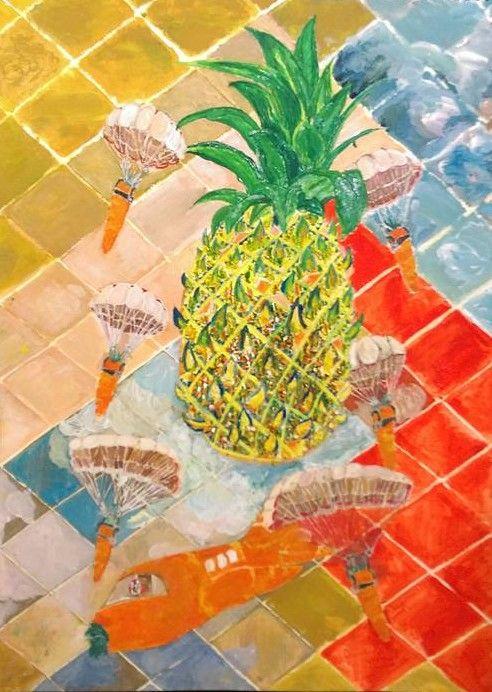 Pineapple Plane - R.E. Scott : Collections