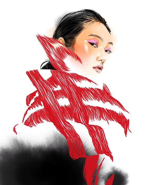 Japanese girl - ArtAbra