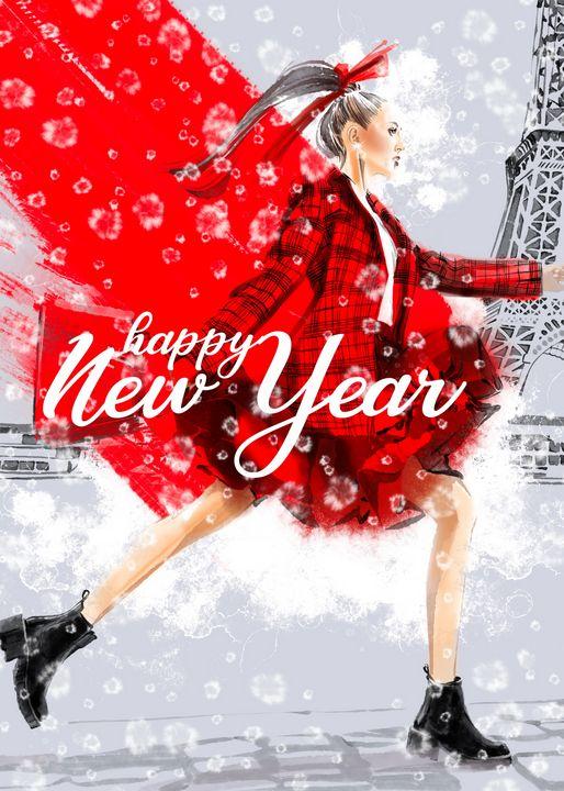 happy new year - ArtAbra