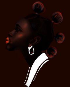 African woman2 - ArtAbra