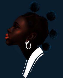 African woman 3 - ArtAbra