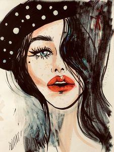 model girl - ArtAbra