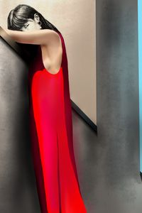 Lady in RED - ArtAbra