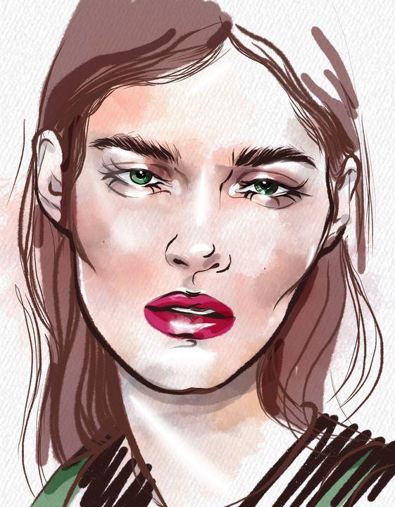 fashion face - ArtAbra
