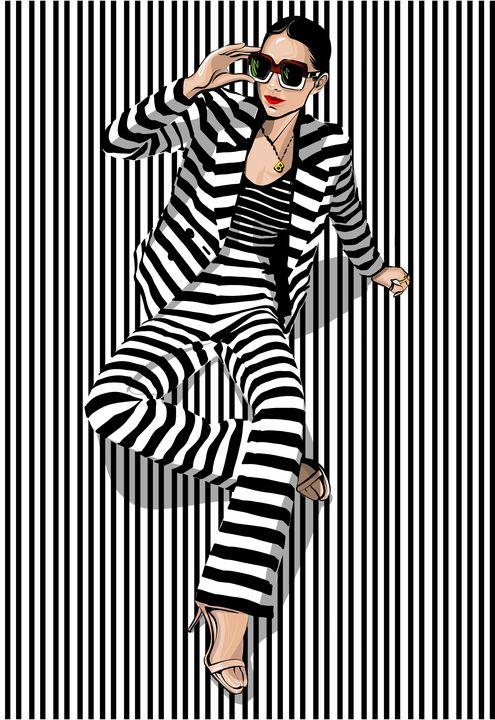 Zebra - ArtAbra