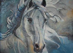Siberian horse - ArtAbra