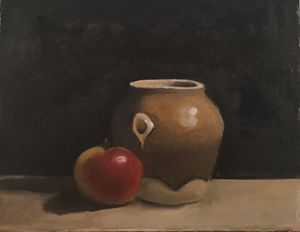 The Honey Jar: Apple