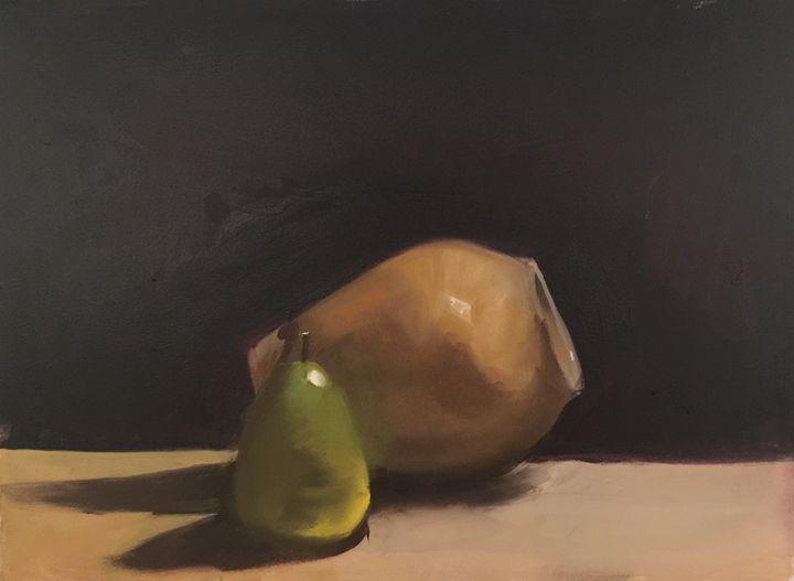 The Honey Jar: Pear - Barnett Jr. Art
